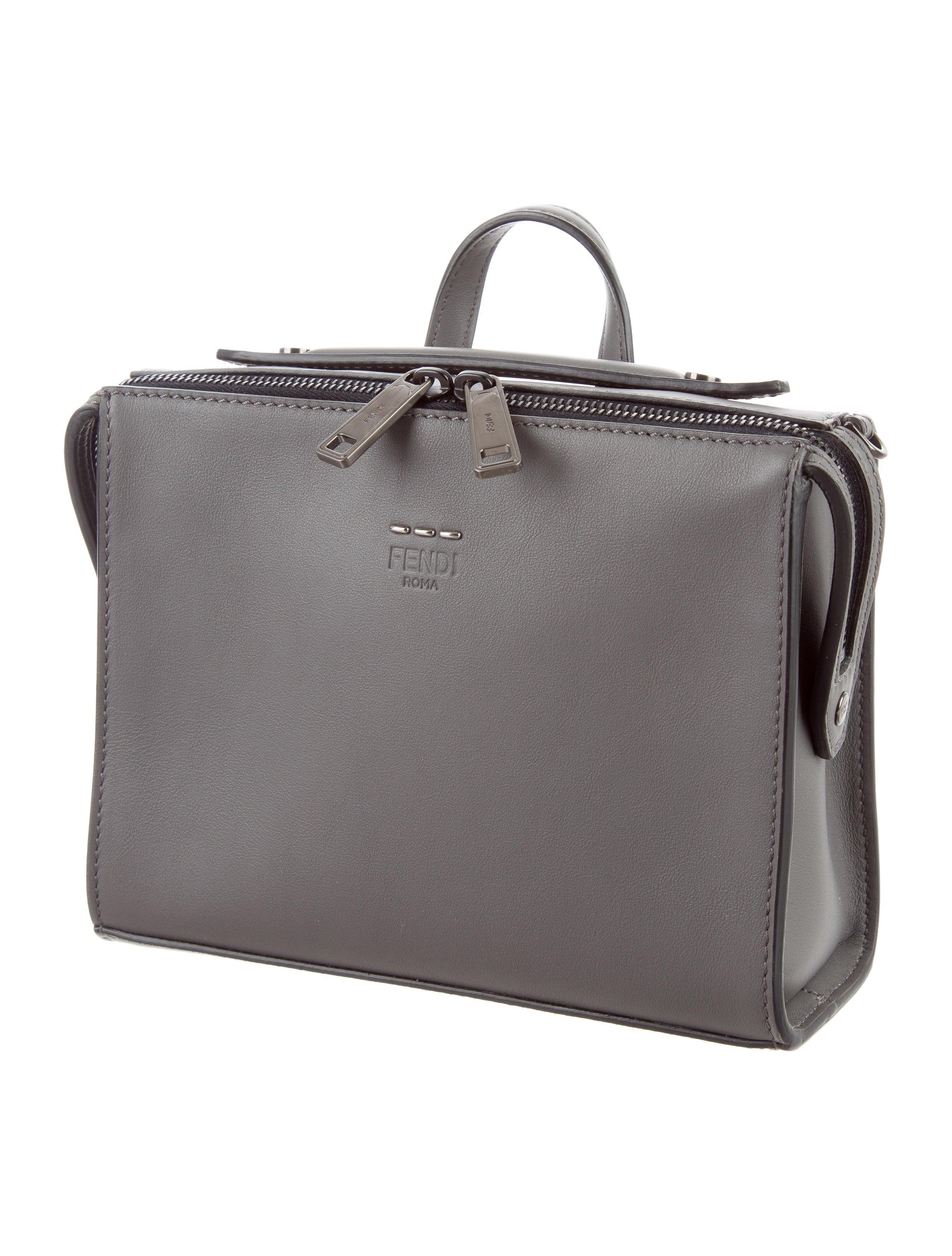 303345554a Fendi Mini Leather Messenger Bag - Bags - FEN55489