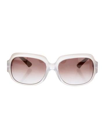 Fendi Frosted Gradient Sunglasses None