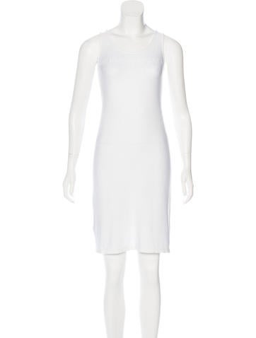 Fendi Logo-Accented Knee-Length Dress None
