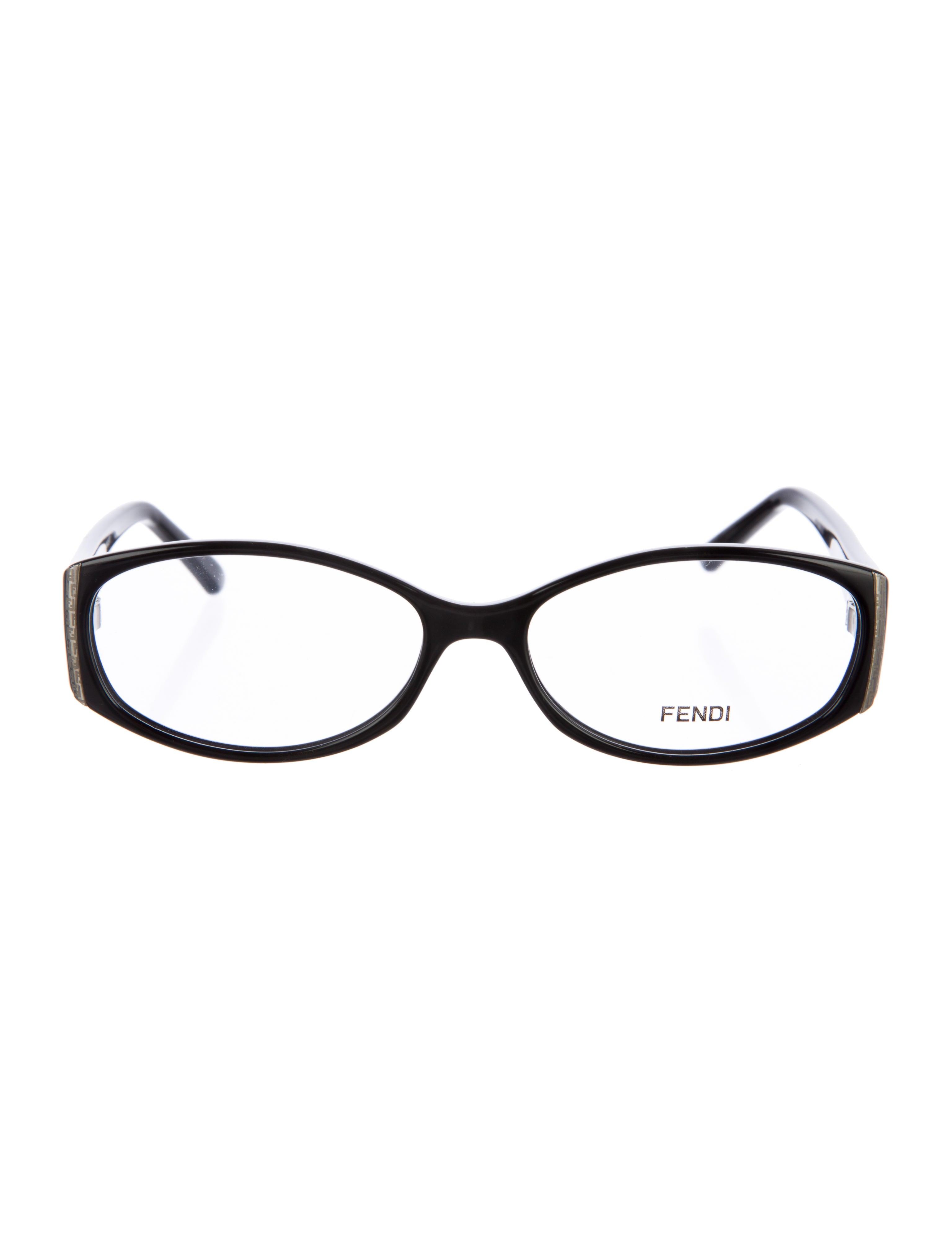 4e0781d6c3d9 Fendi Eye Glasses With Rhinestones