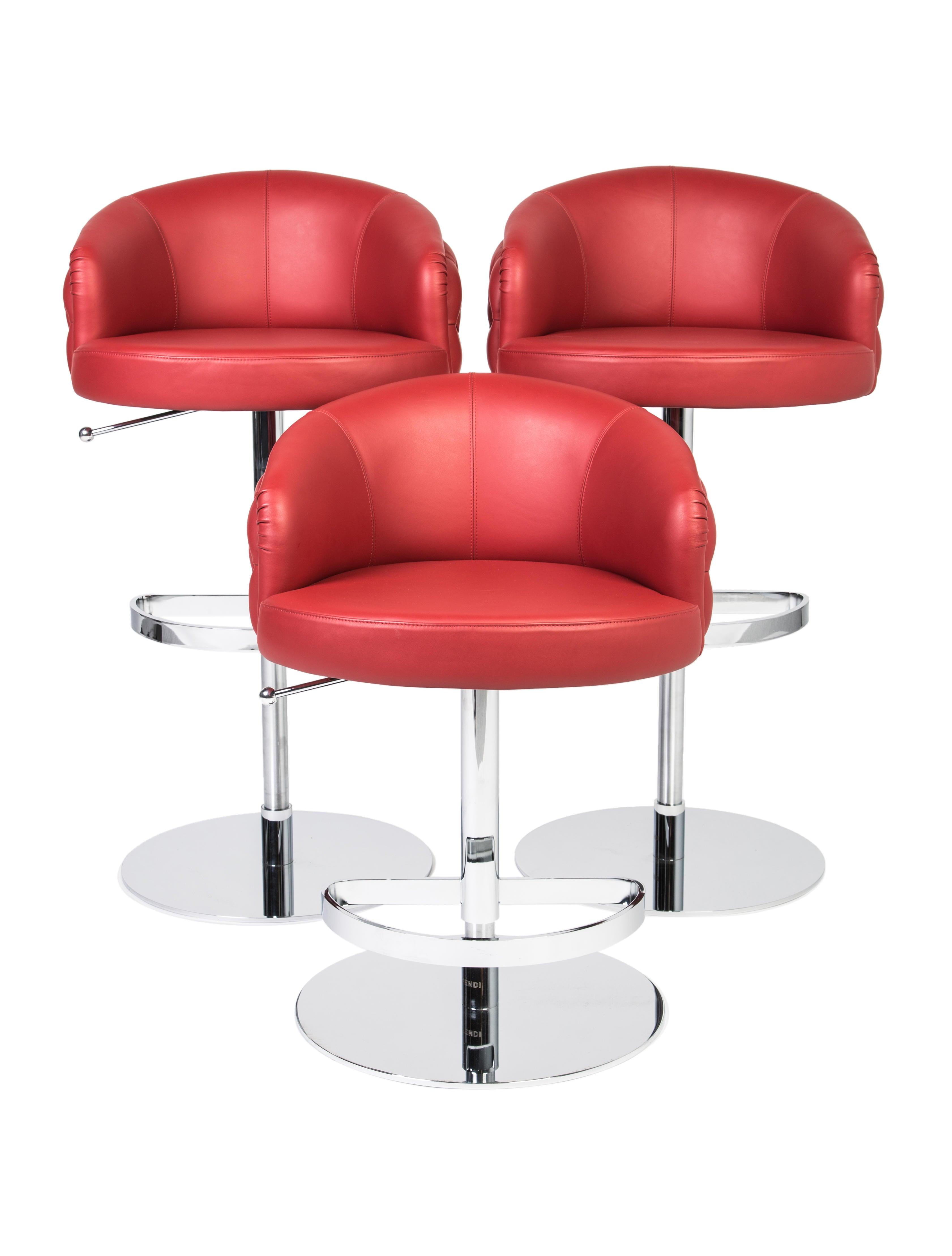 Fendi Bibendum Bar Stools Furniture Fen56895 The Realreal