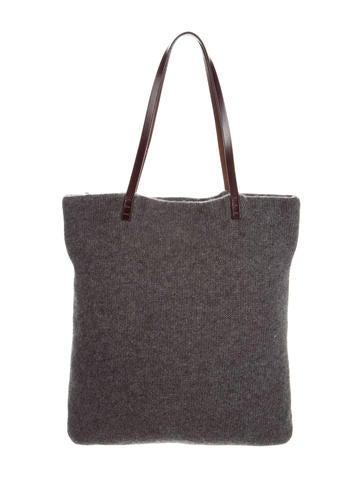Fendi Knitted Tote Bag None