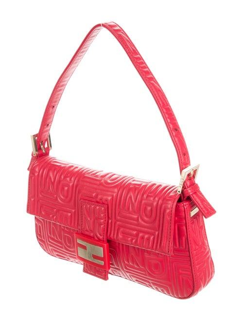 eba5f3aae2 Fendi Embossed Nappa Leather Baguette - Handbags - FEN57503 | The ...