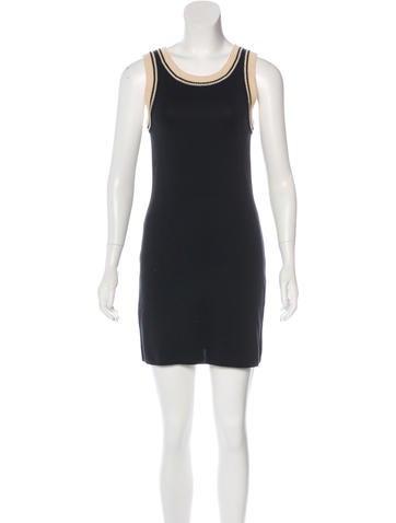 Fendi Sleeveless Mini Dress None