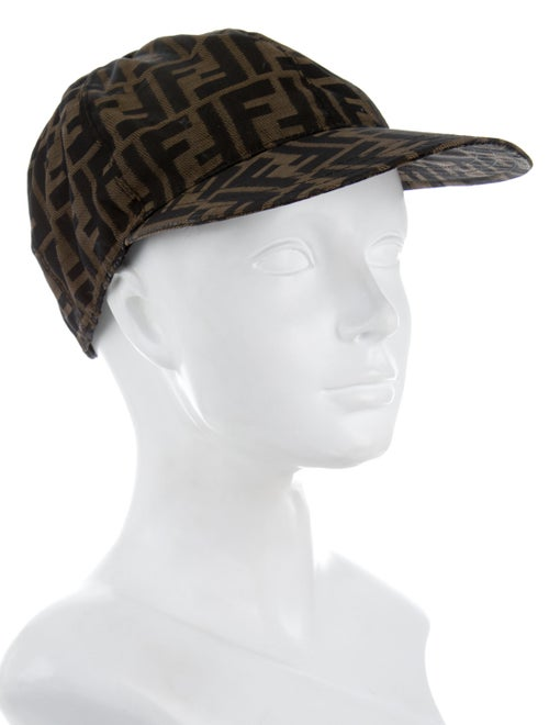 Fendi Zucca Baseball Cap - Accessories - FEN57629  4e2205831f61