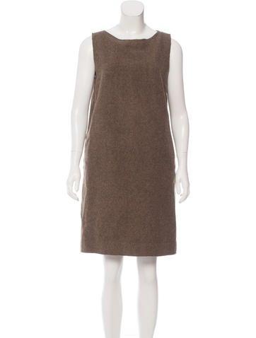 Fendi Wool Shift Dress None