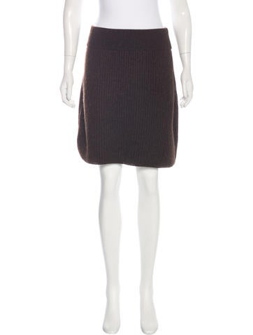 Fendi Knit Mini Skirt w/ Tags None