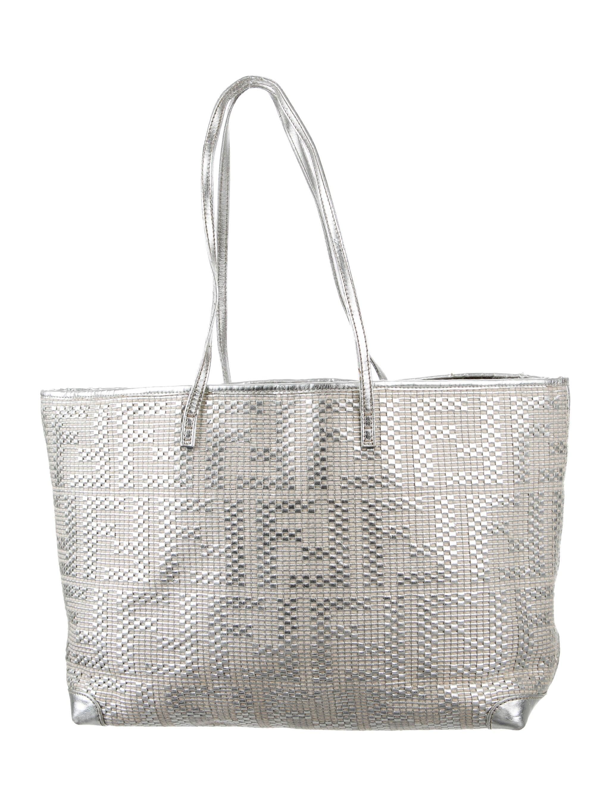 Fendi Matrioska Metallic Tote - Handbags - FEN59341  f5eb48fcf3347