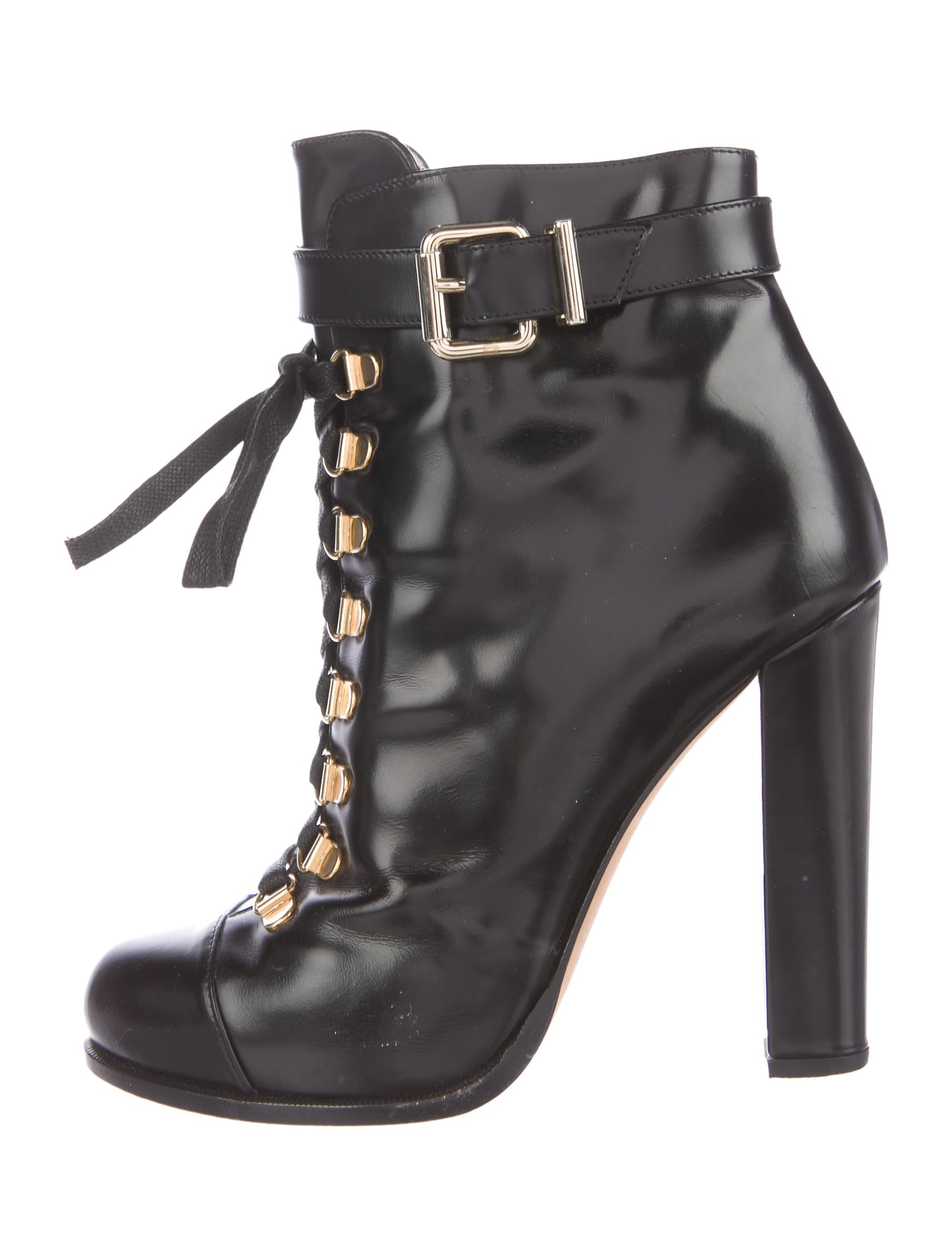 fendi leather lace up ankle boots shoes fen59550 the