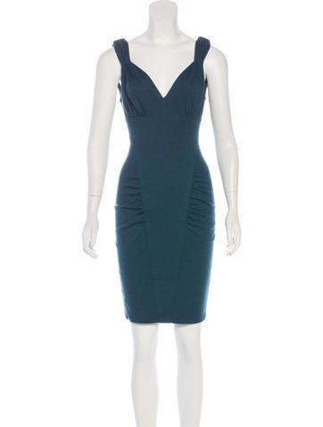 Fendi Wool Mini Dress None