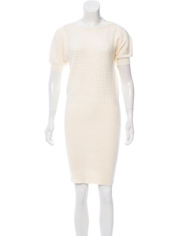 Fendi Knit Sweater Dress None
