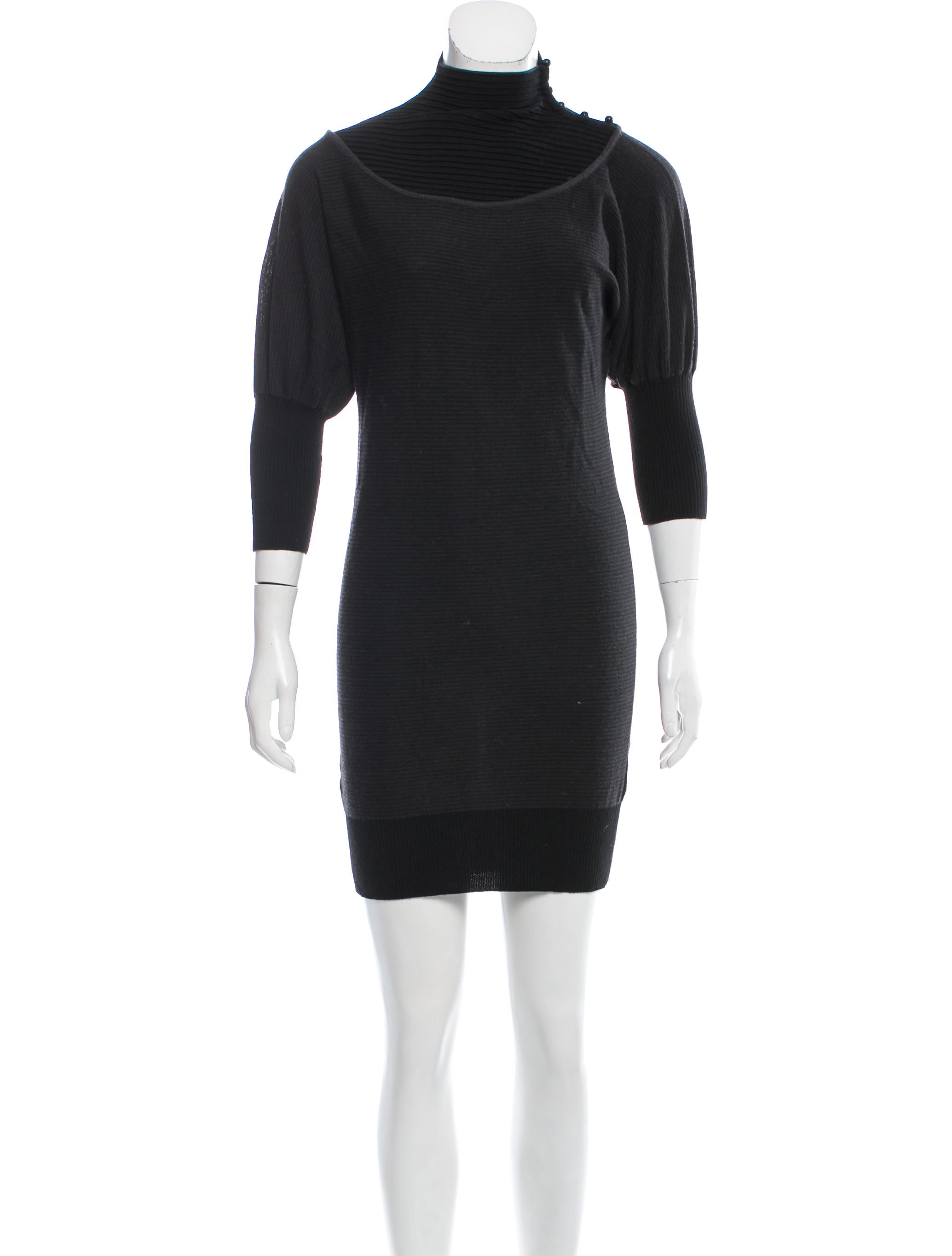 Fendi Wool Sweater Dress - Clothing - FEN60994 | The RealReal