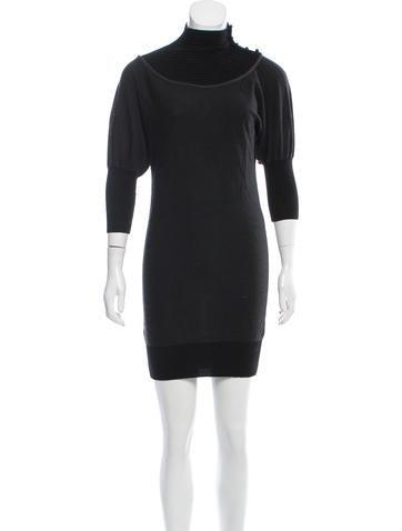 Fendi Wool Sweater Dress None