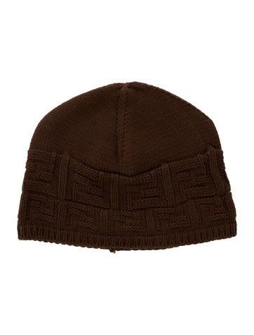 Fendi Wool Knit Beanie None