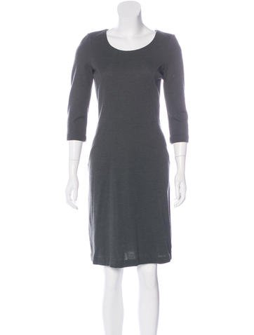 Fendi Wool Knee-Length Dress None