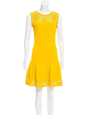 Fendi Knit Cutout Dress None