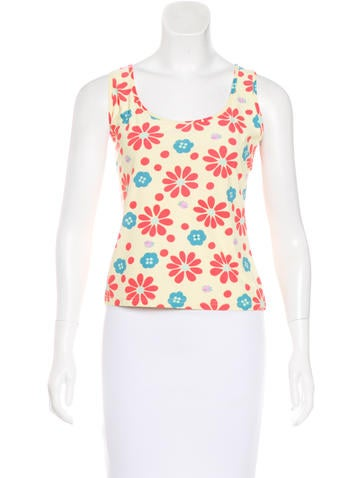 Fendi Vintage Sleeveless Top None
