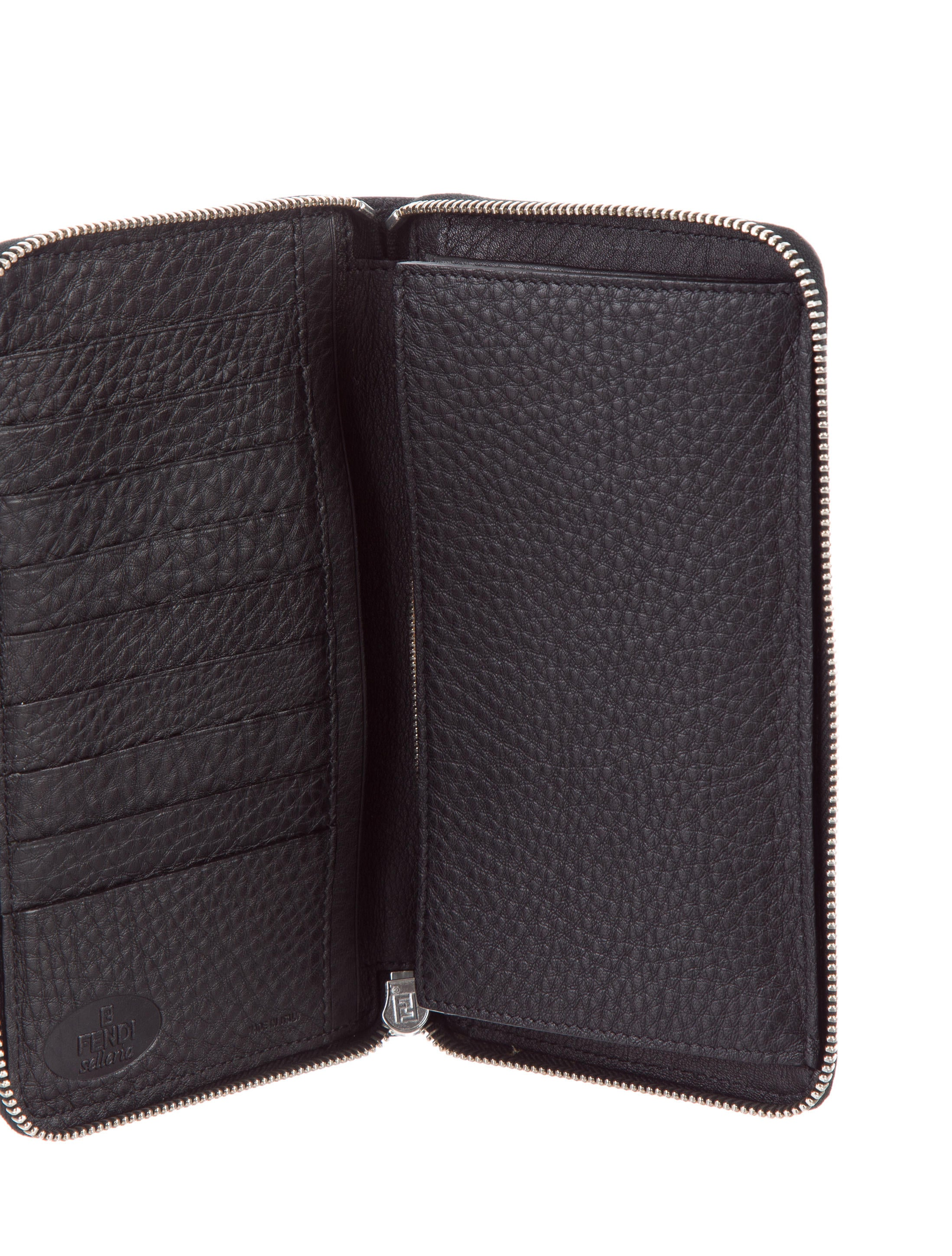 Fendi Leather Travel Wallet Accessories Fen63132 The
