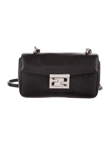 Fendi Micro Leather Baguette None