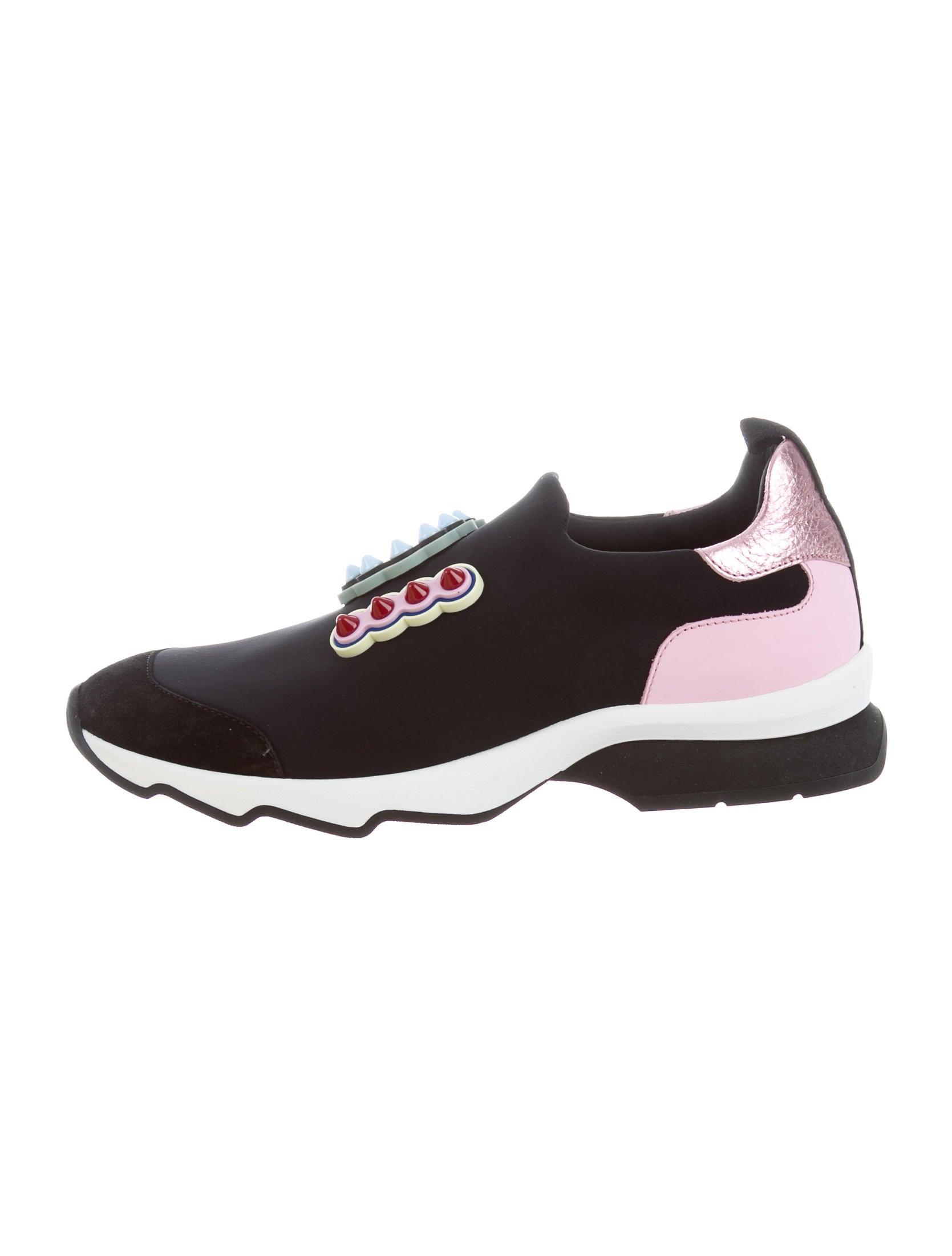 Fendi Fun Fair Slip-On Sneakers w/ Tags