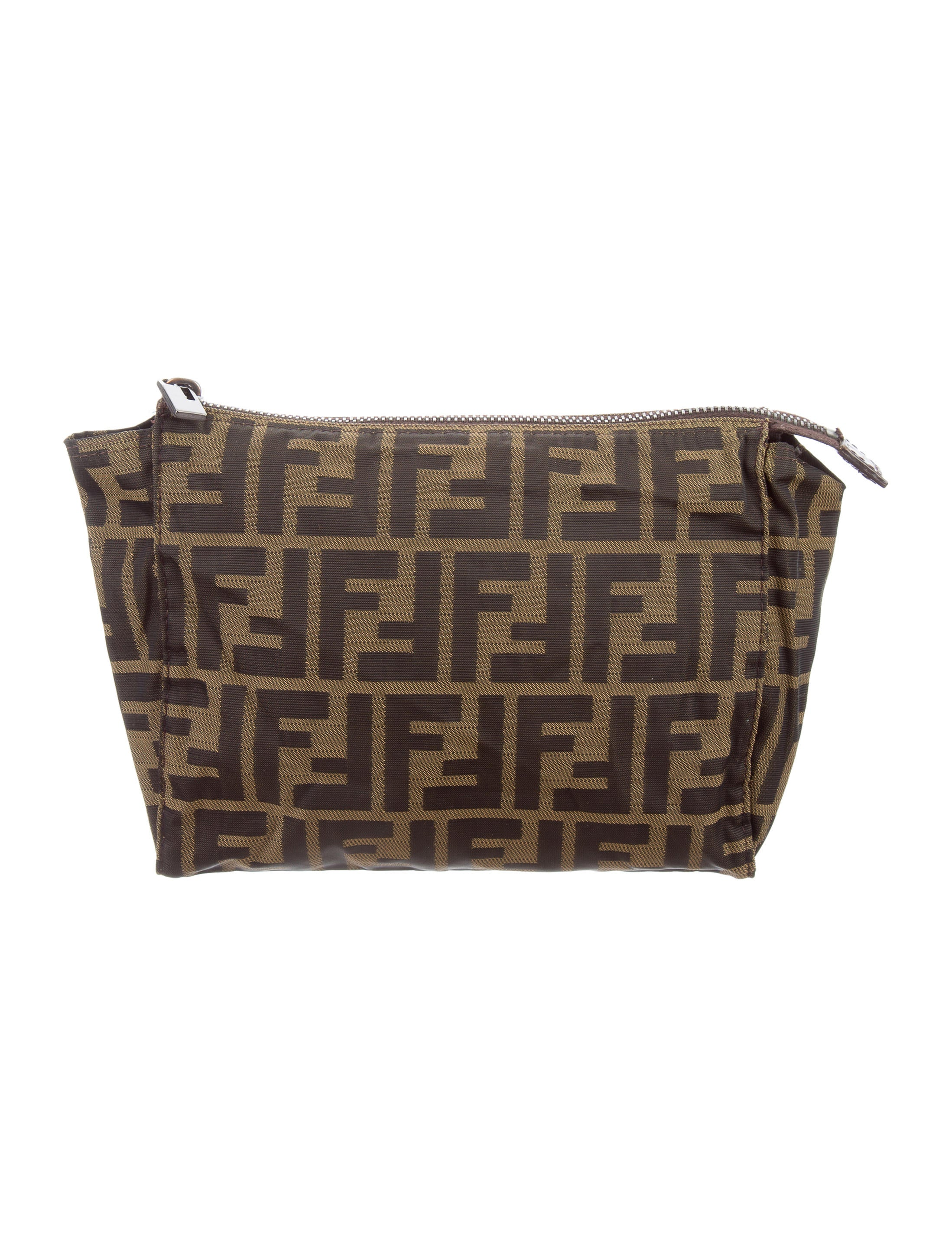 f051fdd97196 Fendi Zucca Cosmetic Bag - Accessories - FEN63968