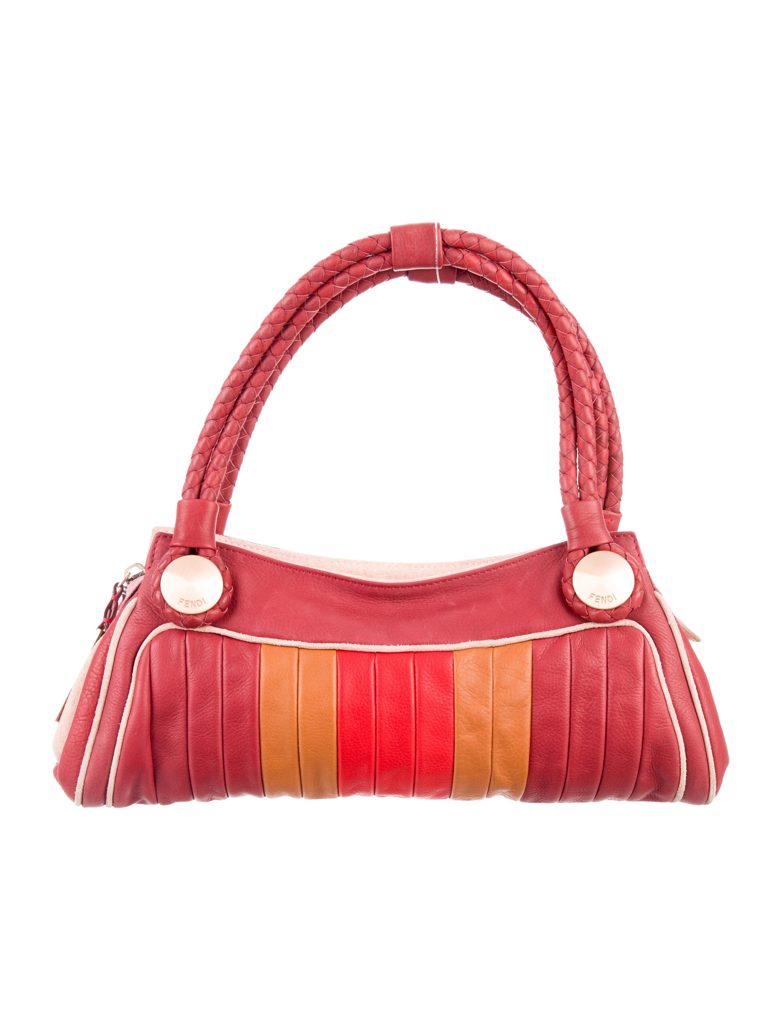 8d70c6128955 Fendi Colorblock Radio Bag - Handbags - FEN64487