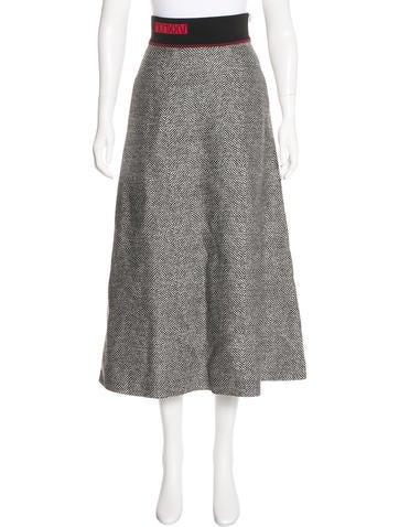 Fendi 2017 Wool Skirt None
