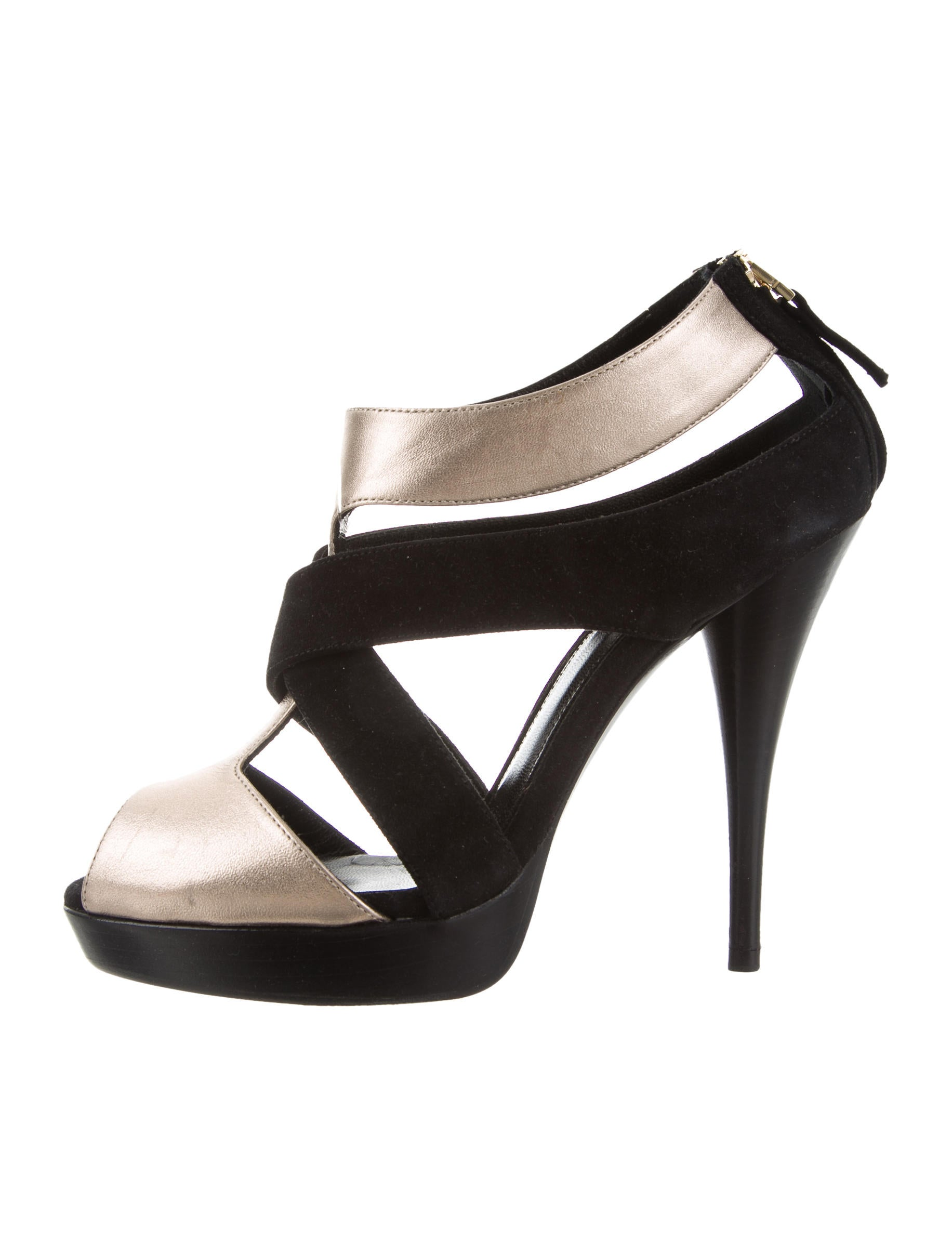 Fendi Leather Multistrap Sandals for nice cheap online 2r1YI628J