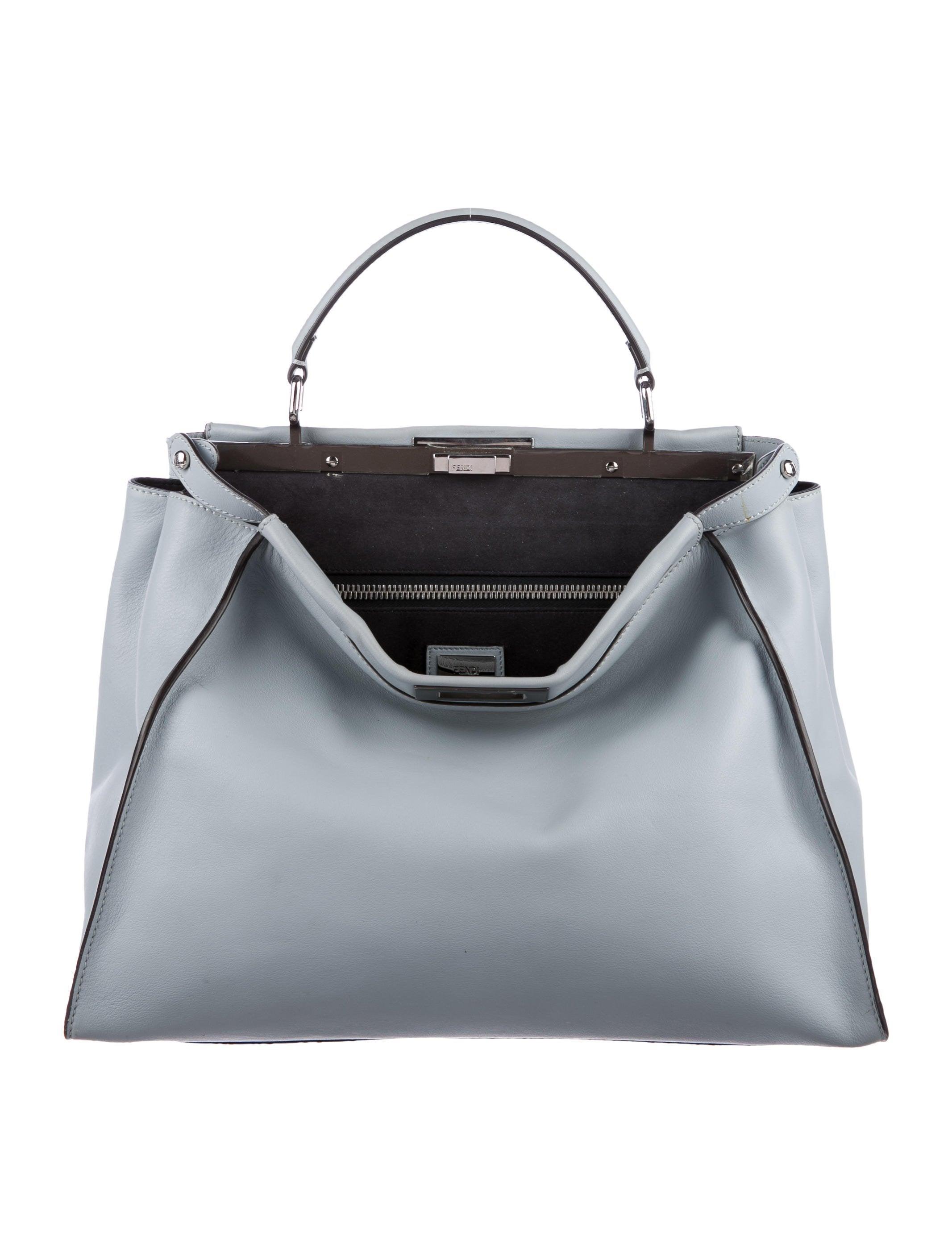 75091dd363 Fendi Large Peekaboo Bag - Handbags - FEN65773
