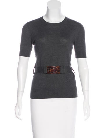 Fendi Knit Wool Top None