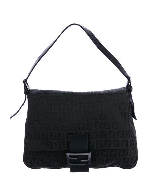 bbbef04c6063 Fendi Zucchino Mamma Forever Baguette Shoulder Bag - Handbags ...