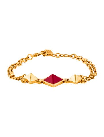 Fendi Enamel Dome Bracelet None