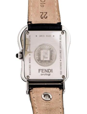 Fendi B Fendi Pav Watch Strap Fen66787 The Realreal