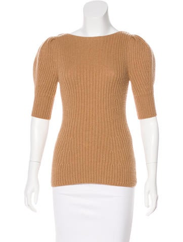 Fendi Short Sleeve Knit top None
