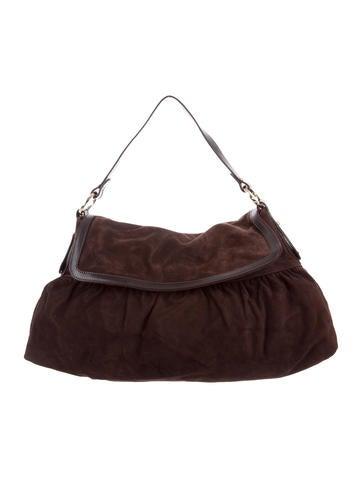 1d8a87e84c18 ... real fendi suede chef bag handbags fen66981 the realreal f2edc c8d03
