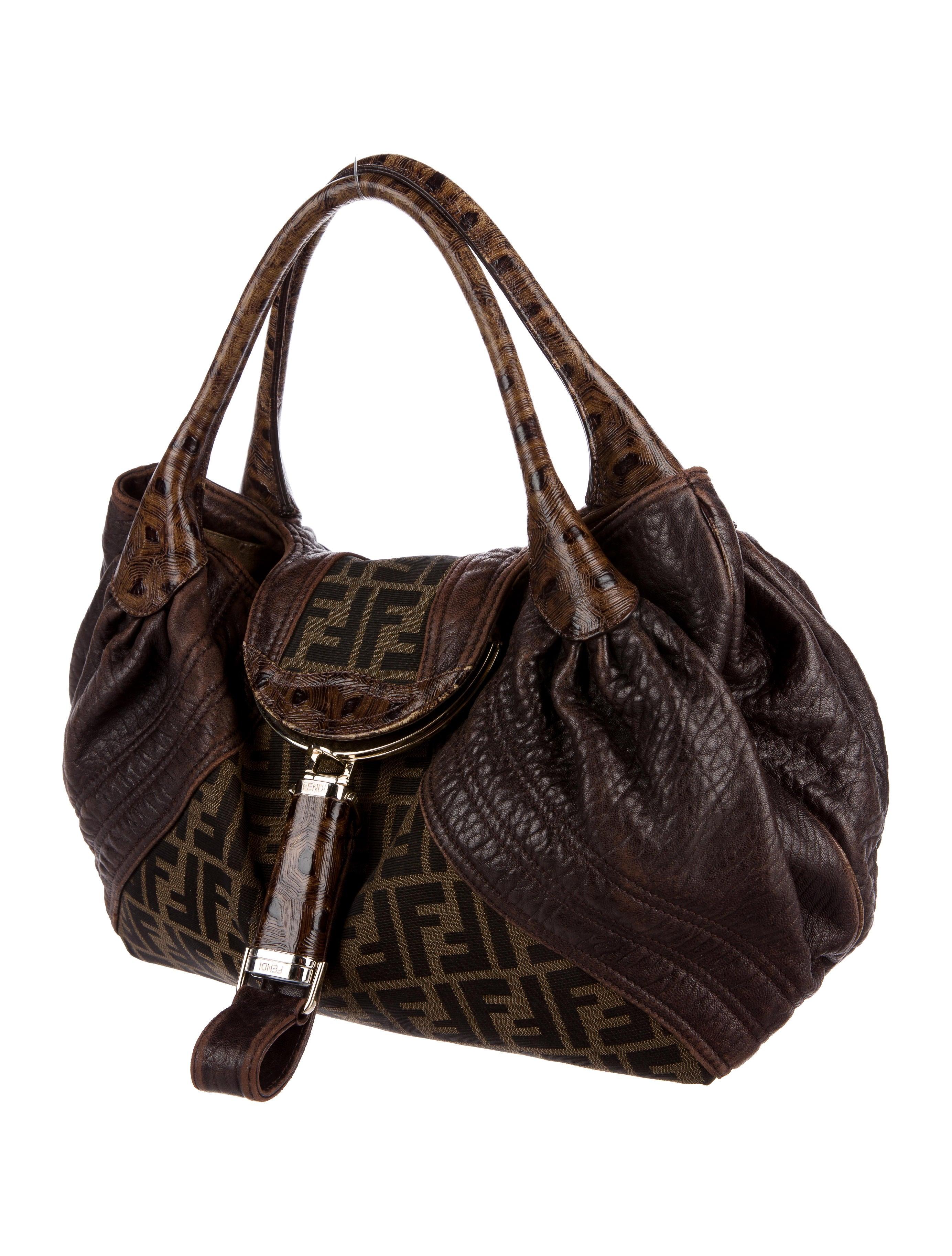 1ec2c3755883 ... switzerland fendi zucca spy bag handbags fen66991 the realreal 3a028  db531