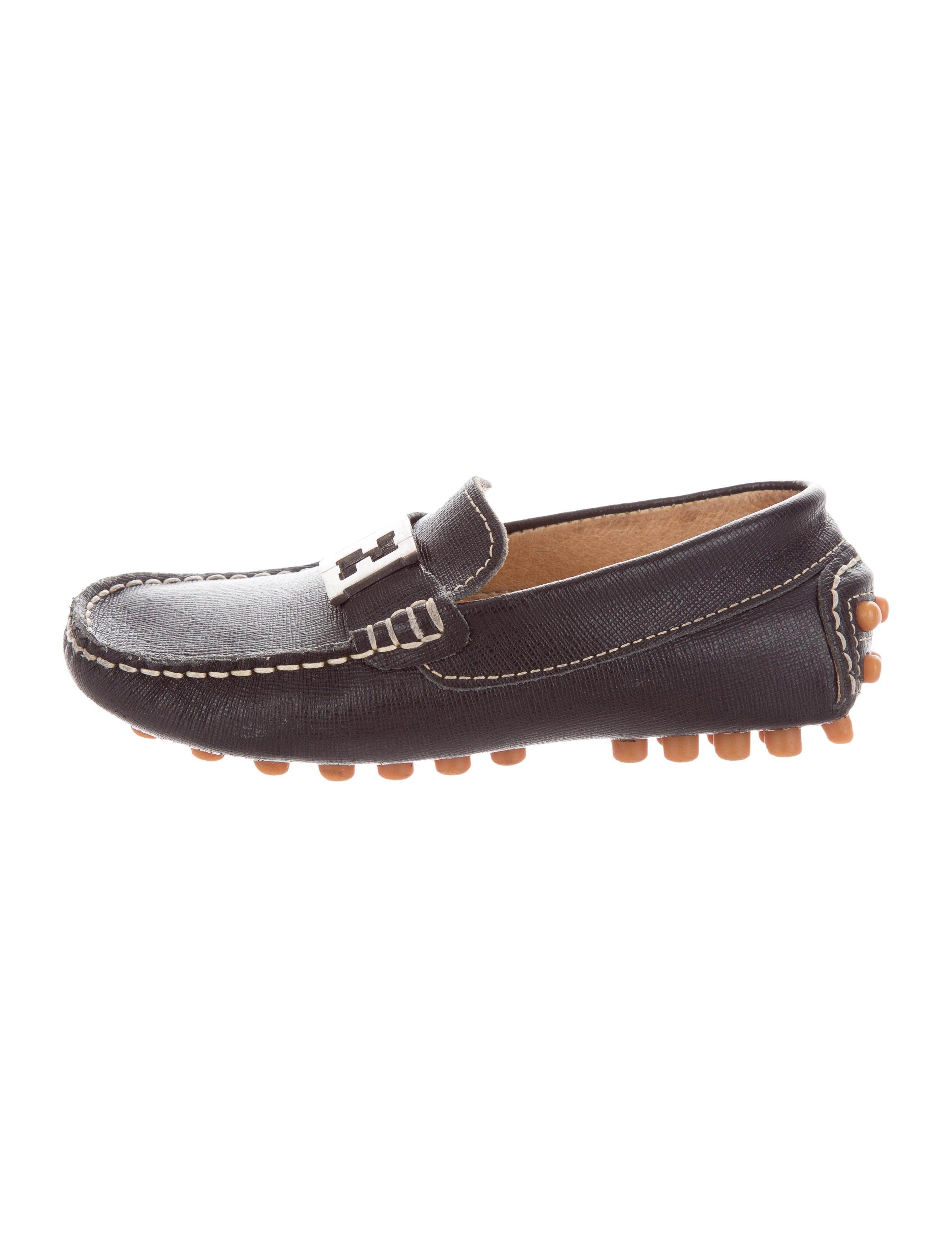 bbd069095aa Fendi boys leather zucca embellished loafers boys fen jpg 2642x3485 Fendi  loafers