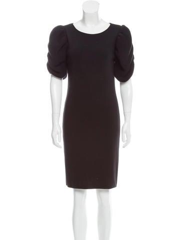 Fendi Wool Knee-Length Dress None