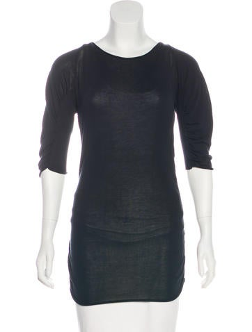 Fendi Long Sleeve Knit Top None