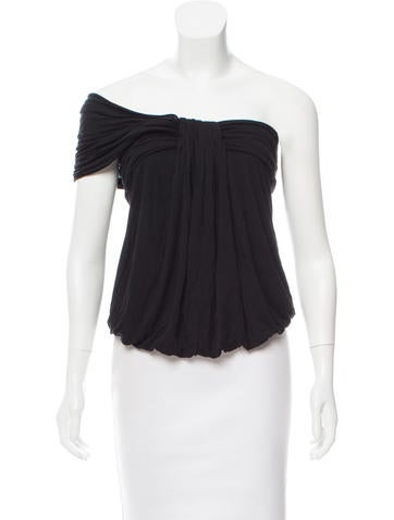 Fendi Ruched Sleeveless Top None