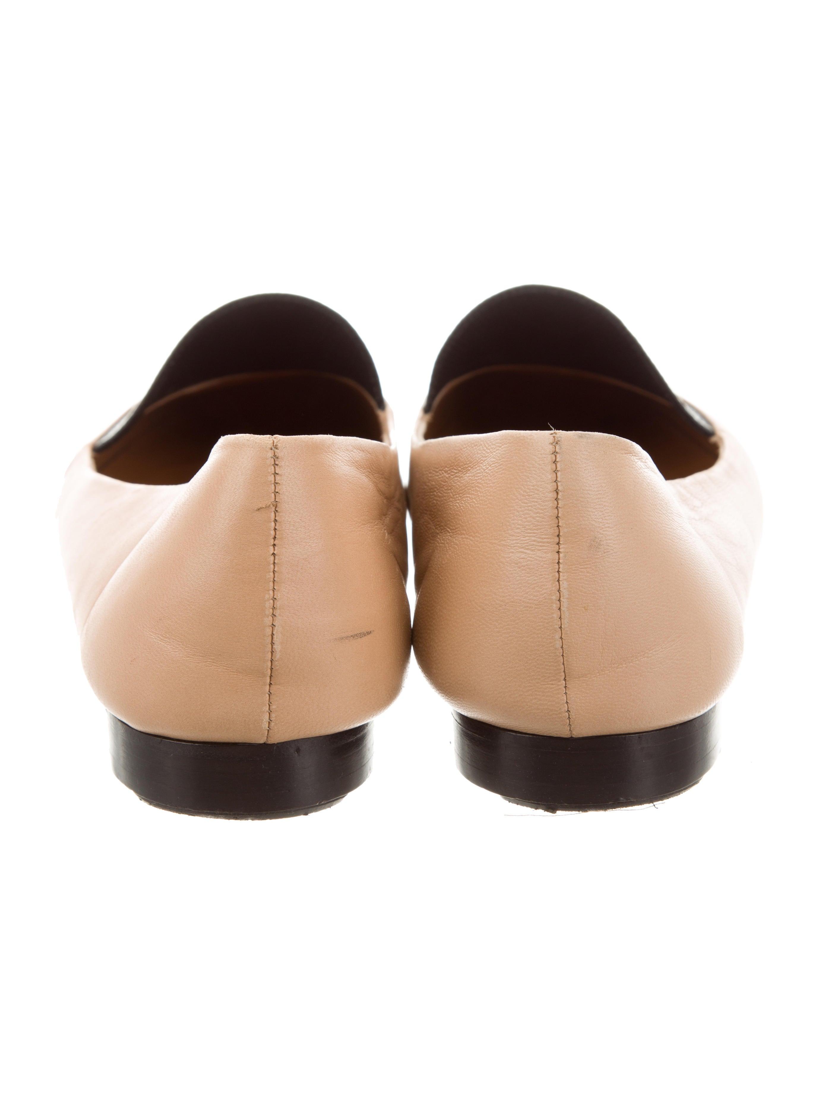 Fendi Bicolor Round-Toe Loafers manchester great sale cheap online discount cost iwFQXYq6L