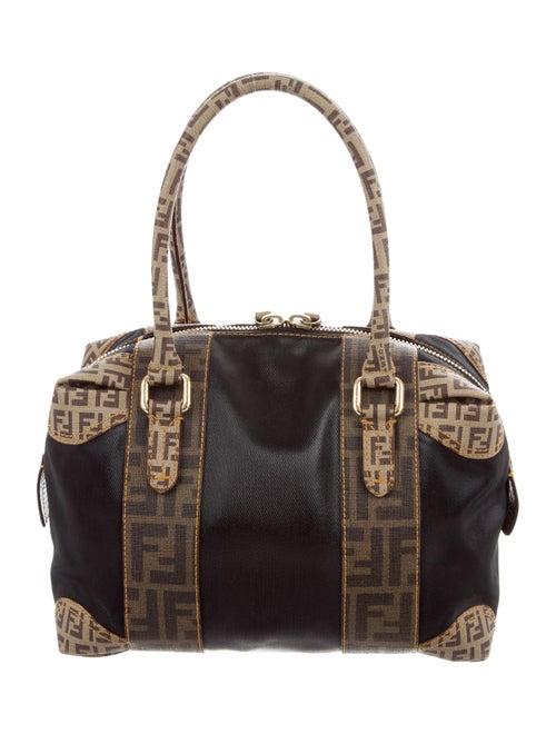 76a134ecde Fendi Zucchino & Zucca-Trimmed Bauletto Bag - Handbags - FEN69069 ...