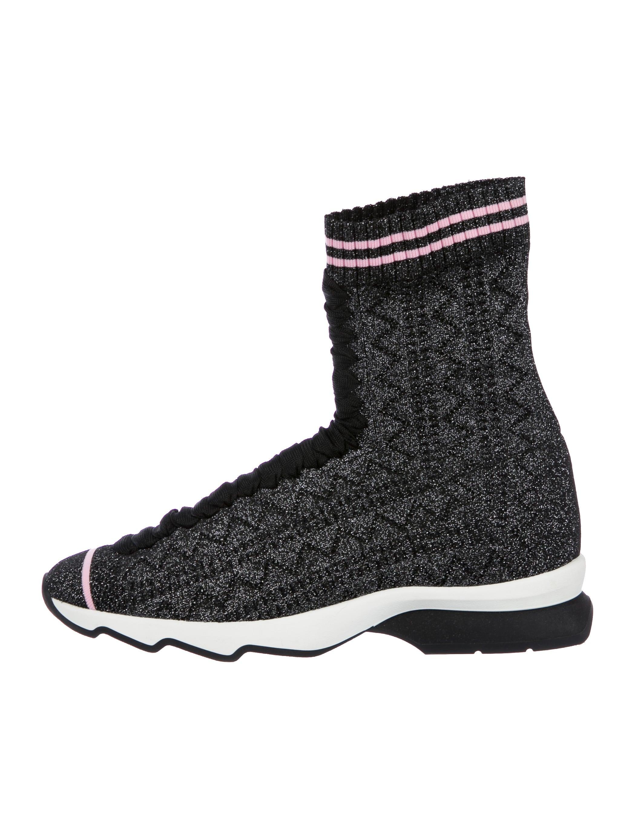 Fendi 2018 Rockoko Sock Sneakers w/ Tags buy cheap in China UwpyC