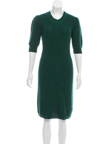 Fendi Knee-Length Sweater Dress None