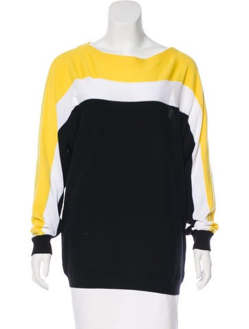 Fendi Cashmere Striped Sweater None