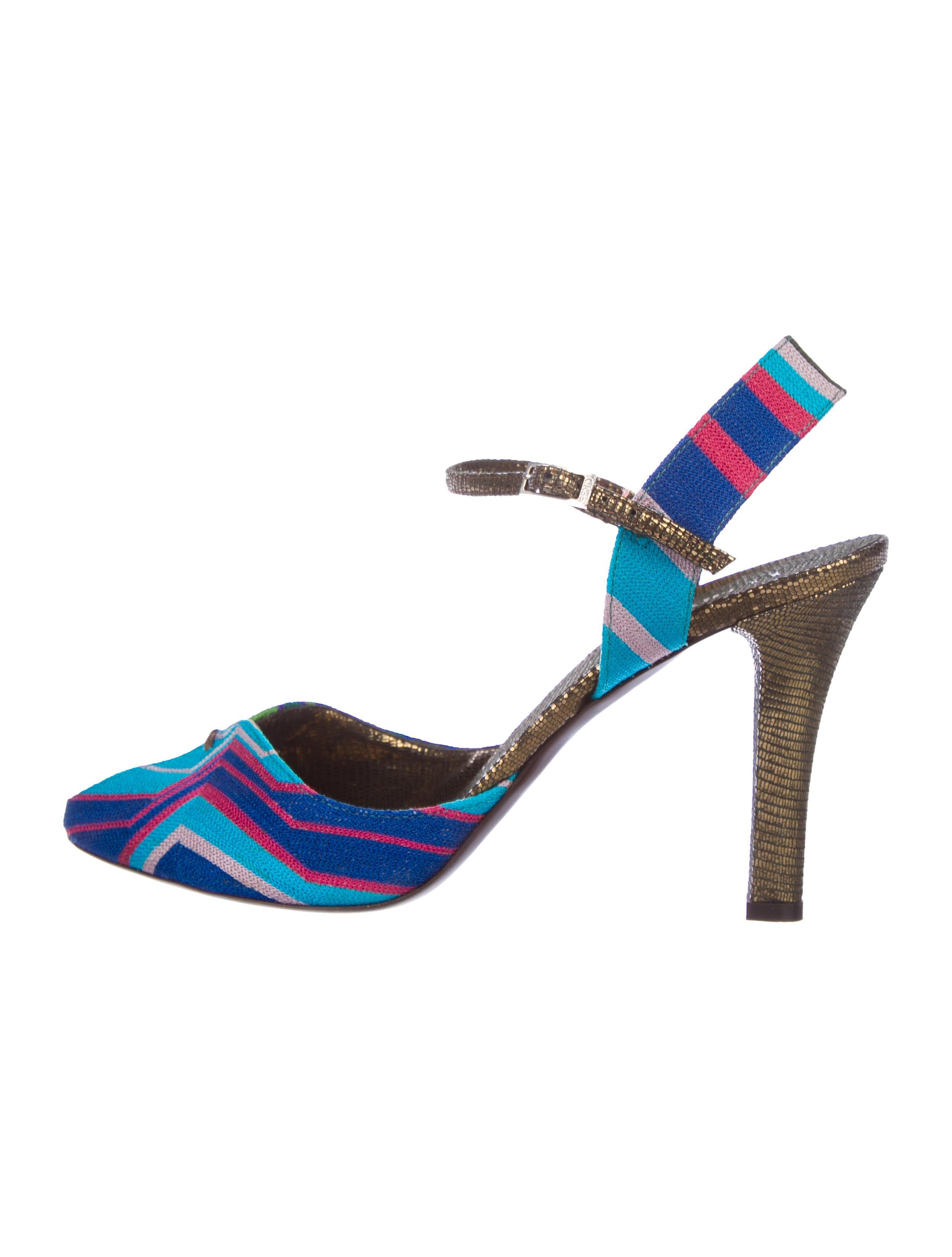 fake cheap online get authentic for sale Fendi Mary Jane Knit Sandals clearance shop discount explore huge surprise tkvYen6