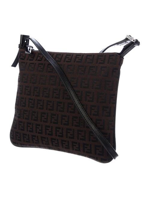 9cbba21d1 Fendi Zucchino Canvas Crossbody Bag - Handbags - FEN70930 | The RealReal