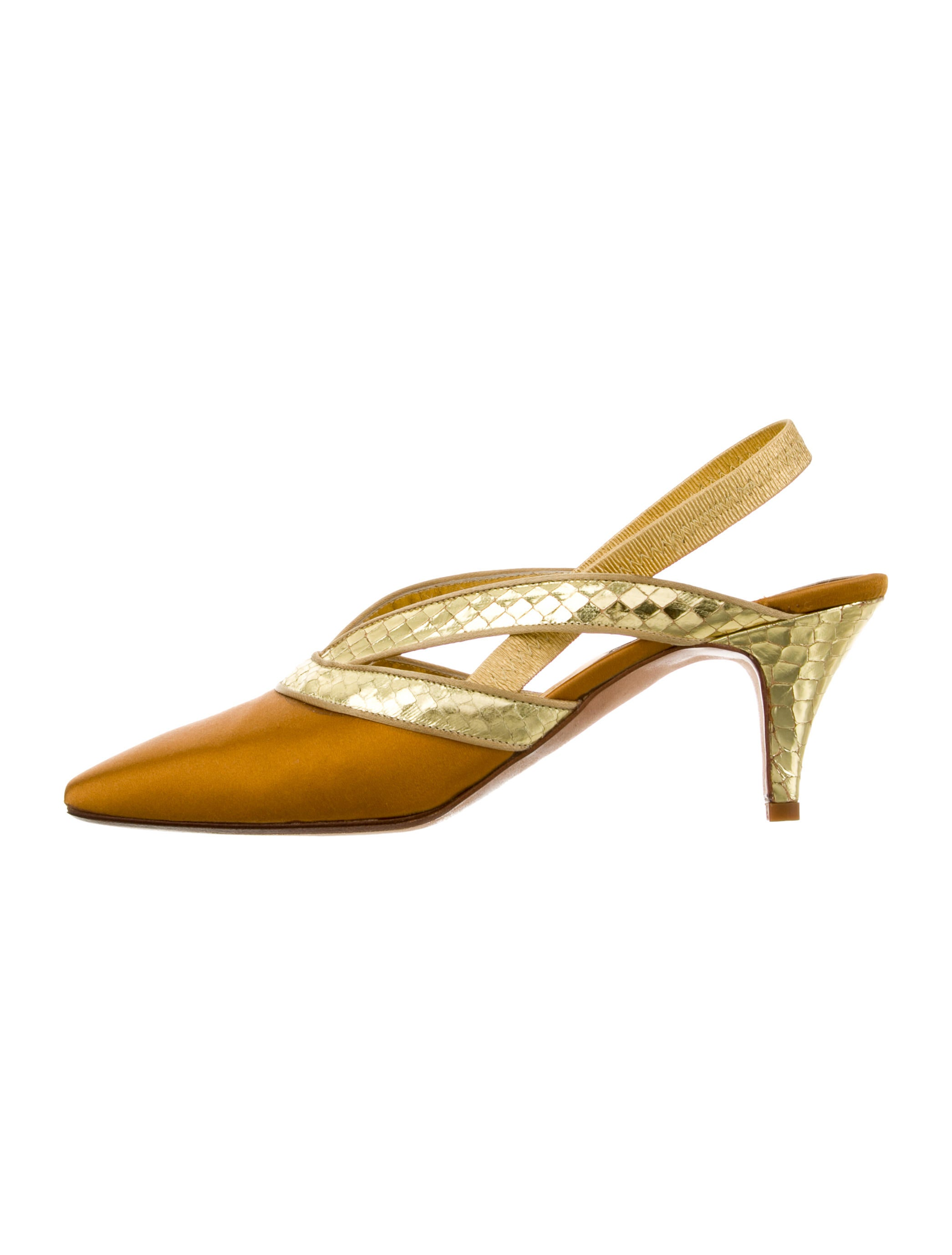 where to buy visit for sale Fendi Vintage Slingback Pumps cheap sast discount outlet locations free shipping eastbay tqzbJKpR8f