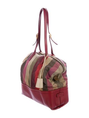 aafb3131baf6 Fendi Pequin 2Bag Tote - Handbags - FEN71280