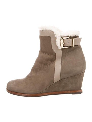 Fendi Wedge Ankle Boots None